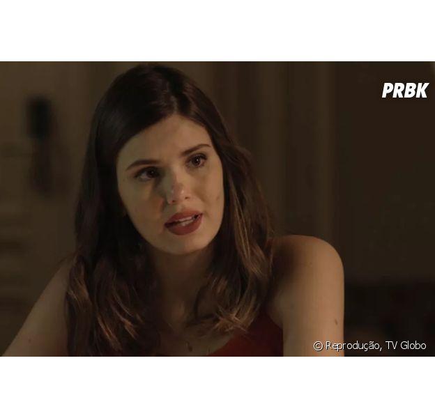 """Novela """"Pega Pega"""": Luiza (Camila Queiroz) descobre mistério sobre passado de Eric (Mateus Solano)"""