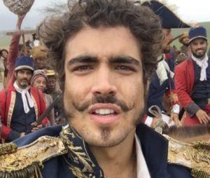 """De """"Novo Mundo"""", ator Caio Castro se emociona após gravação de cena"""