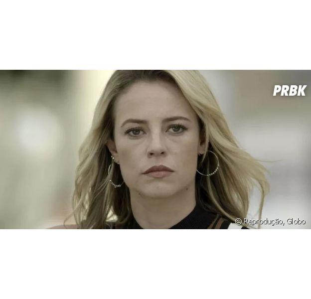 """Em """"A Força do Querer"""", Jeiza (Paolla Oliveira) descobre passado de Caio (Rodrigo Lombardi) e Bibi (Juliana Paes)"""