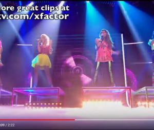 "Little Mix se apresenta no ""The X Factor"" com ""Telephone"", de Lady Gaga"