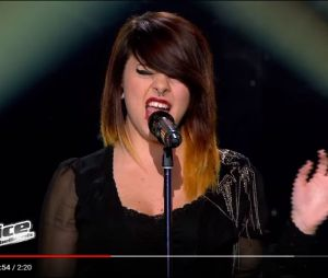 "Cécilia Pascal canta ""Poker Face"" no ""The Voice"""