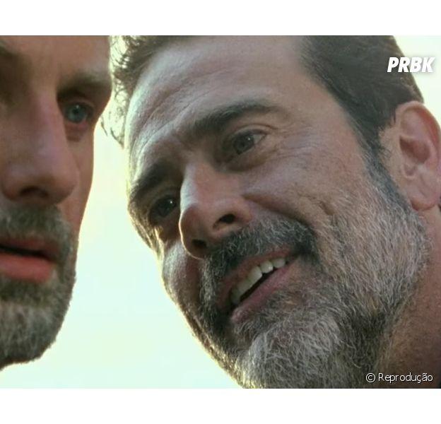 """De """"The Walking Dead"""", Scott M. Gimple revela quando a guerra entre Rick (Andrew Lincoln) e Negan (Jeffrey Dean Morgan) vai acabar"""