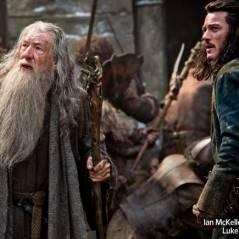 """Ian McKellen e Luke Evans em 1ª foto de """"Hobbit: A Batalha dos Cinco Exércitos"""""""
