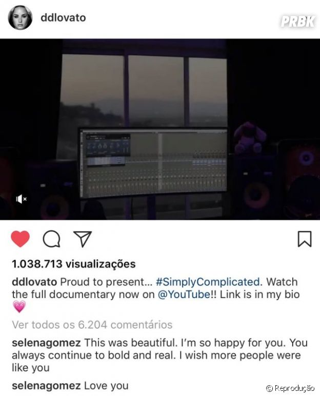 Selena Gomez diz que ama Demi Lovato!