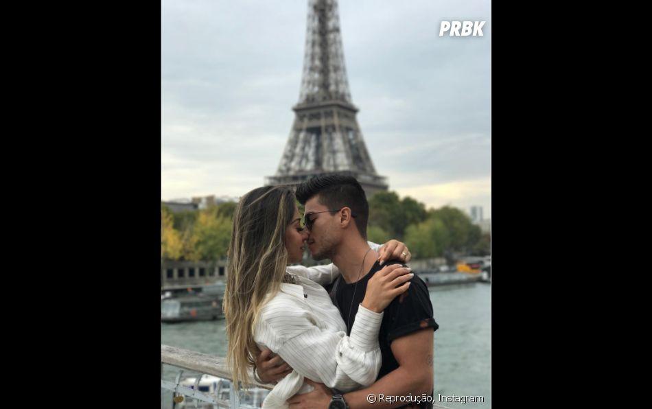Arthur Aguiar e Mayra Cardi fizeram uma tour pela Europa