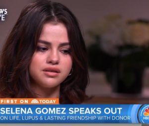 """No """"Today"""", Selena Gomez chora ao falar sobre transplante de rim"""