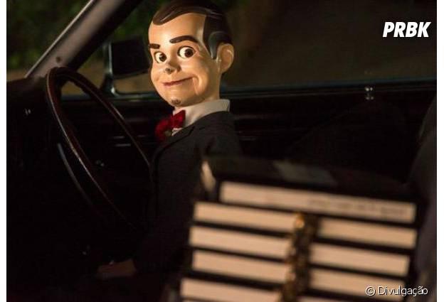 """Boneco de ventríloquo famoso da série de livros escritos por R.L. Stine estará em """"Goosebumps"""""""