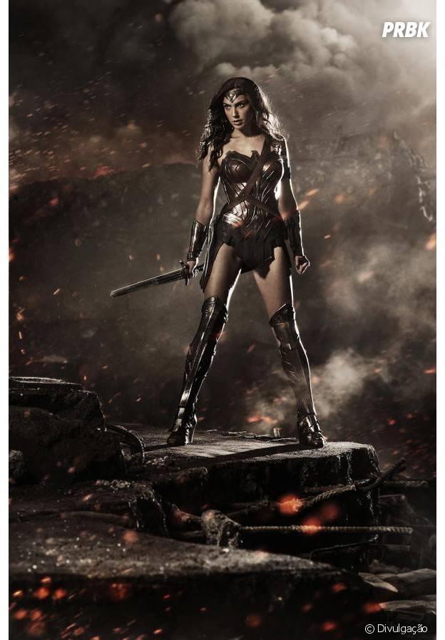 """Revelado visual de Gal Gadot como Mulher-Maravilha em """"Batman v Superman"""""""