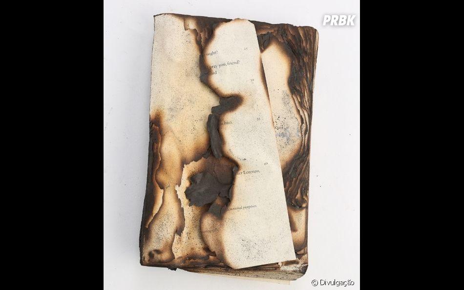 Livro queimado por Bella (Kristen Stewart) à venda no leilão ... 3b18e7548a