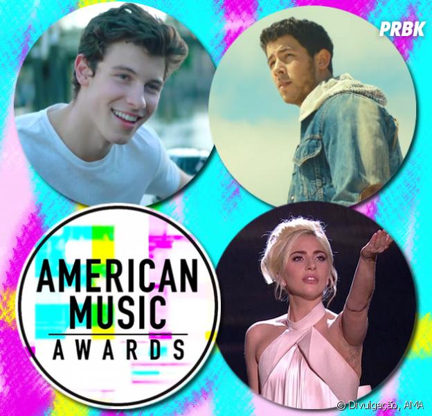 AMAs 2017 adiciona Shawn Mendes, Nick Jonas e Lady Gaga a sua lista de performances