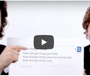 """Veja o elenco de """"Stranger Things"""" buscando o nome da série no Google!"""