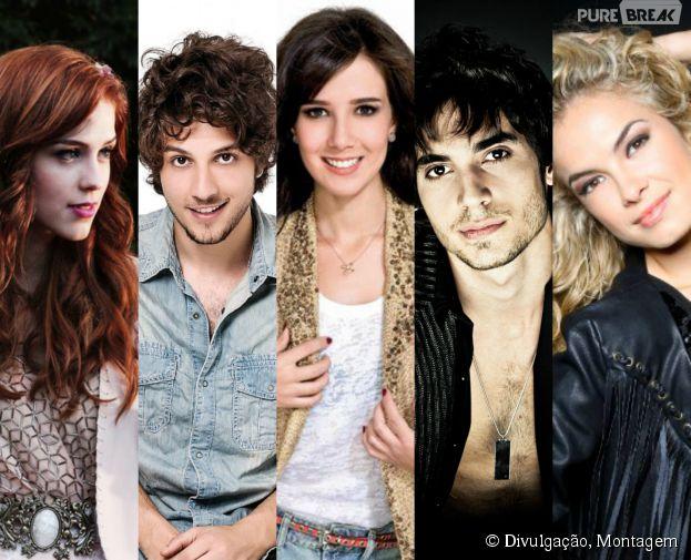 Confira 15 atores e cantores como Sophia Abrahão, Marjorie Estiano, Chay Suede, Fiuk e Lua Blanco