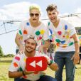Irmãos Neto e Rezendeevil na gravação do vídeo doYouTube Rewind 2017