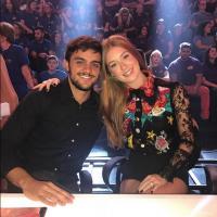 """Marina Ruy Barbosa e Felipe Simas fazem reencontro """"Totalmente Demais"""" no """"Domingão do Faustão"""""""