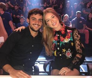 """Marina Ruy Barbosa e Felipe Simas, de """"Totalmente Demais"""", se reencontram no """"Domingão do Faustão"""""""
