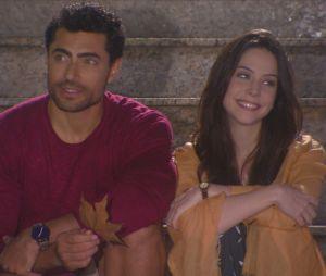 """Em """"Carinha de Anjo"""", Cecília (Bia Arantes) e Gustavo (Carlo Porto) planejam casamento"""