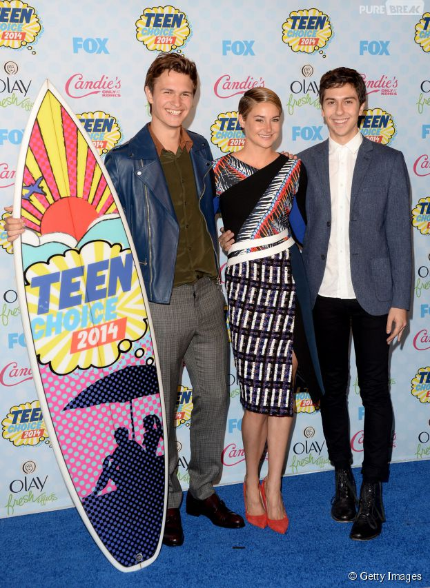 """""""A Culpa é das Estrelas"""" ganhou em três categorias do """"Teen Choice Awards"""""""
