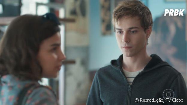 """Em """"Malhação"""", Gabriel (Luis Galves) entra no Colégio Grupo e sofre preconceito por ser gay"""