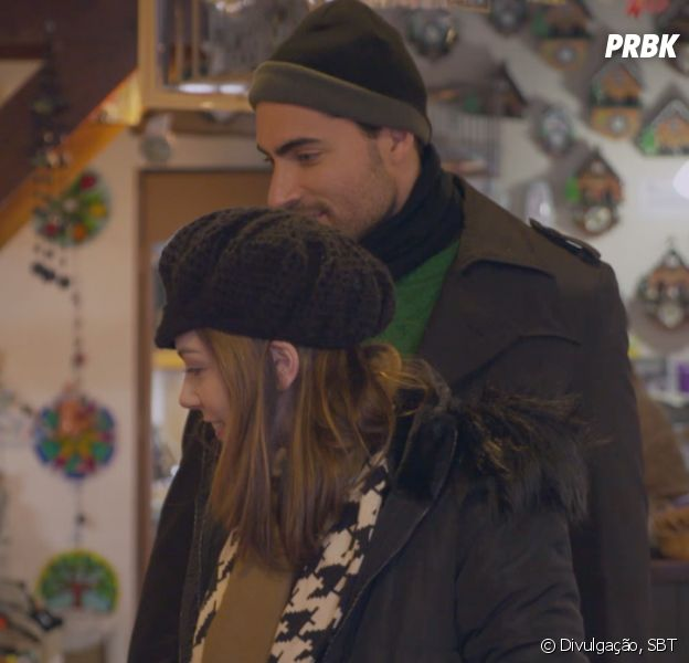 """De """"Carinha de Anjo"""", Cecília (Bia Arantes) e Gustavo (Carlo Porto) aproveitam viagem de lua-de-mel"""