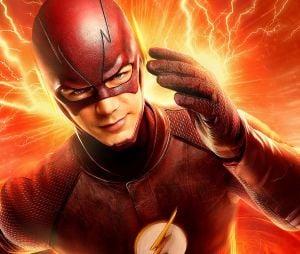 """Na série """"The Flash"""", Barry Allen (Grant Gustin) sofre um acidente e se torna um dos heróis mais rápidos do mundo"""
