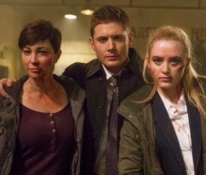 """""""Wayward Sisters"""" mostra Jody (Kim Rhodes) e Claire (Kathryn Newton) formando um esquadrão para ir atrás de Sam (Jared Padalecki) e Dean (Jensen Ackles)"""