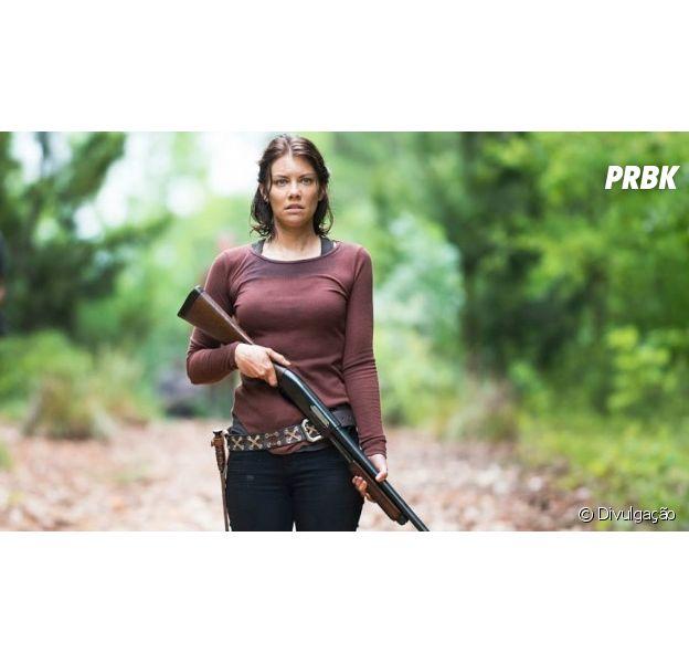 "Em ""The Walking Dead"", Lauren Cohan, a Maggie, pode sair da série!"