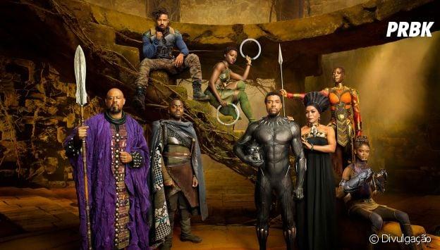"""O elenco """"Pantera Negra"""" abrilhanta e é um dos pontos fortes da mais recente aposta da Marvel"""