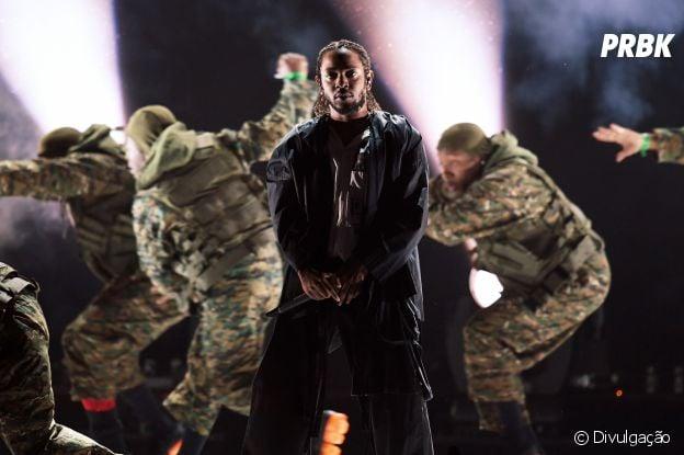 """Kendrick Lamar foi o responsável pela impecável trilha sonora de """"Pantera Negra"""""""