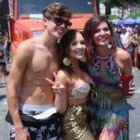 Larissa Manoela e o namorado, Leo Cidade, curtem o Carnaval em clima de romance!