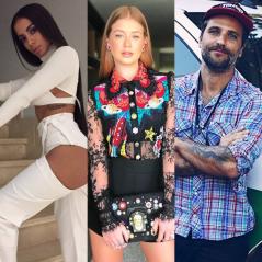 Anitta, Marina Ruy Barbosa e Bruno Gagliasso fazem live no Instagram juntos