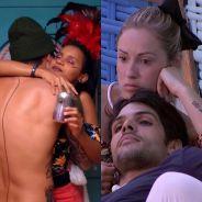 """Do """"BBB18"""": Gleici e Wagner ou Lucas e Jessica, qual casal você shippa mais?"""