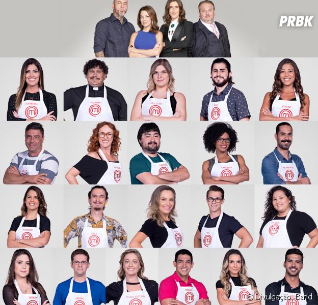 """Conheça os 21 participantes da 5ª temporada do """"MasterChef Brasil"""""""