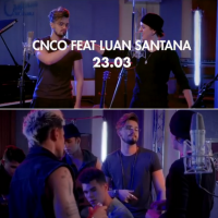 """Luan Santana anuncia data de lançamento de música com CNCO, do hit """"Reggaetón Lento"""""""