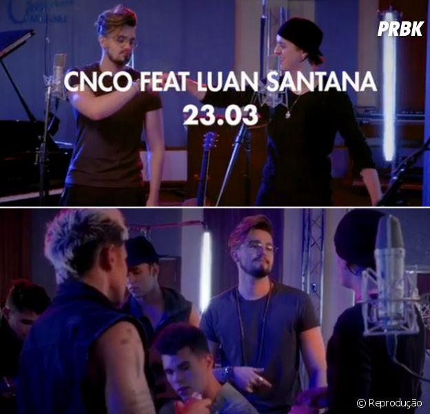 "Luan Santana participará do remix de ""Mamita"", hit da banda CNCO!"