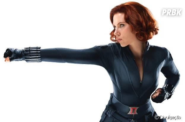 Scarlett Johansson é a Viúva Negra no universo Marvel