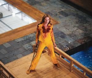 "Uma Thurman é a protagonista de ""Kill Bill"""
