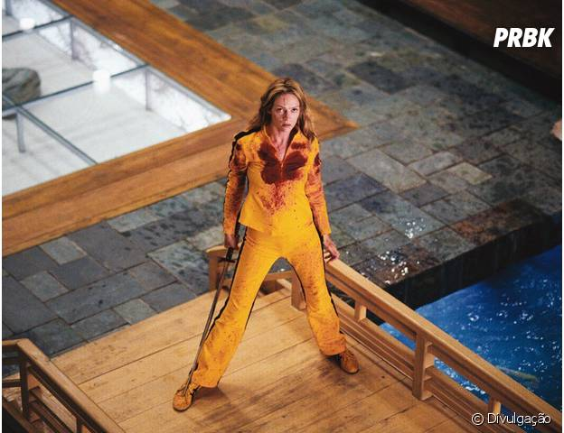 "Uma Thurman é a protagonista de ""Kill Bill"""