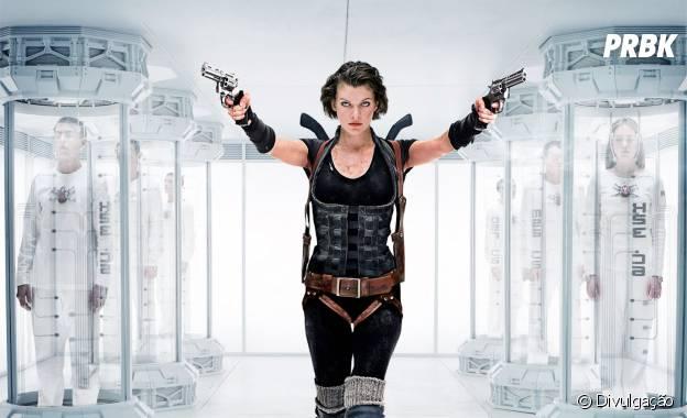 """Milla Jovovich estrela franquia """"Resident Evil"""""""
