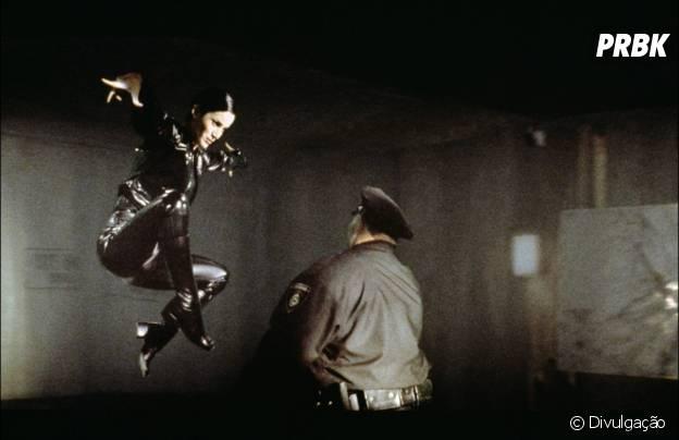 """Carrie-Anne Moss é uma das estrelas de """"Matrix"""""""