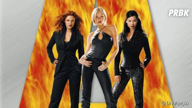 """Cameron Diaz, Drew Barrymore e Lucy Liu estrelam a franquia """"As Panteras"""""""
