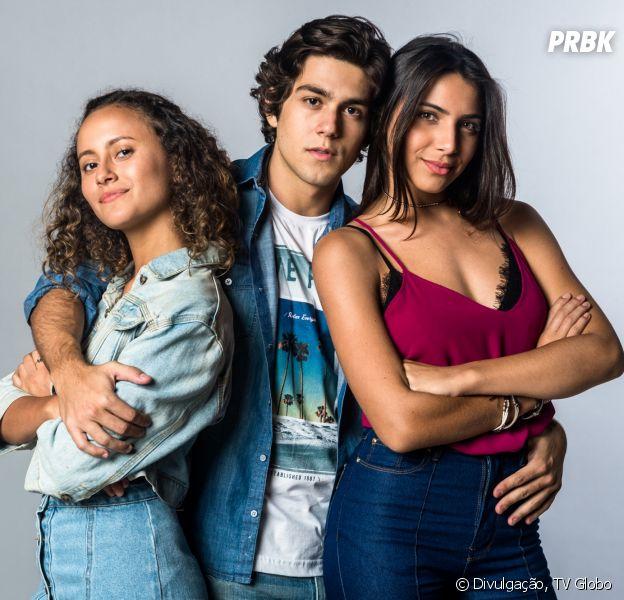 """Depois de terminar com Pérola (Rayssa Bratillieri),Alex (Daniel Rangel) beija Maria Alice (Alice Milagres) em """"Malhação - Vidas Brasileiras"""""""