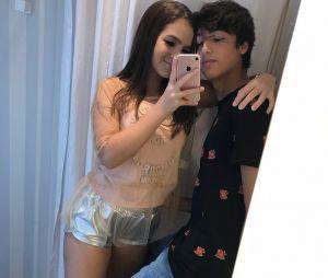 """""""Meu amor maior"""", diz Mel Maia em foto com Erick Andreas, seu primeiro namorado"""