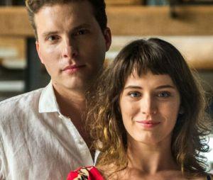 """Em """"O Outro Lado do Paraíso"""", Clara (Bianca Bin) e Patrick (Thiago Fragoso) devem ficar juntos no final"""
