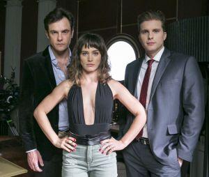 "Em ""O Outro Lado do Paraíso"": Clara (Bianca Bin) estava na dúvida entre Gael (Sergio Guizé) e Patrick (Thiago Fragoso)"