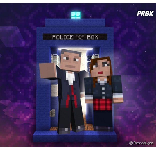 """Um DLC inspirado em """"Doctor Who"""" chega ao """"Minecraft"""""""
