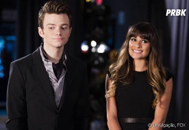 """Na sexta temporada de """"Glee"""", Kurt (Chris Colfer) e Rachel (Lea Michele) estão de volta ao McKinley High"""