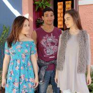 """Em """"As Aventuras de Poliana"""", Mirela e Raquel se apaixonam por Guilherme!"""