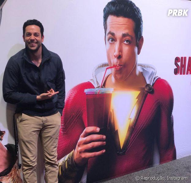 """Filme """"Shazam"""": primeiro poster do filme é divulgado pela DC Comics"""