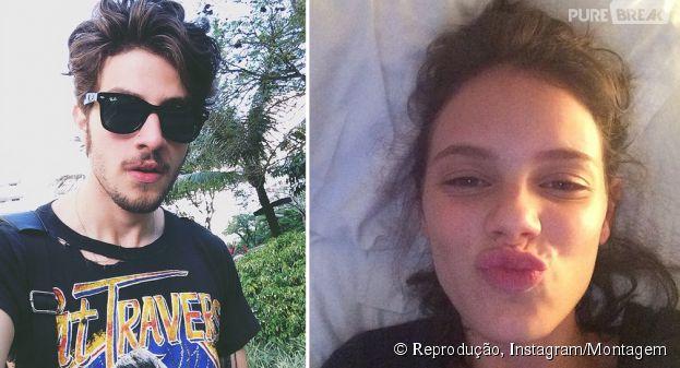 Chay Suede e Laura Neiva formariam um lindo casal, não é mesmo?