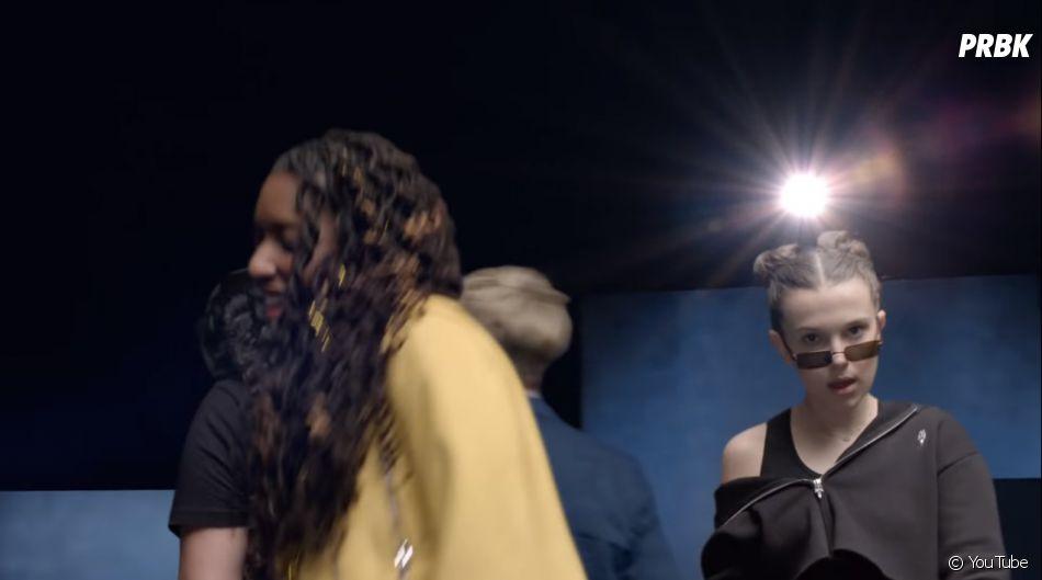 """Além de Millie Bobby Brown, quem aparece no clipe de """"Girls Like You"""" é a atriz Gal Gadot, as cantoras Rita Ora, Jennifer Lopez e muito mais"""
